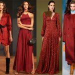 Цвет красная груша в одежде – Модные цвета в одежде 2018-2019 года