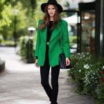 Пиджак зеленый – подбираем правильные сочетания под зеленый женский пиджак