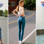 Черные джинсы женские с завышенной – с чем носить, с дырками, с завышенной талией и высокой посадкой