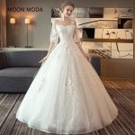Свадебные платья с длинным рукавом – Ой!