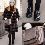 Ботфорты и шуба фото – какие модели подойдут под шубу до колена, зимние сапоги без каблука с шубой