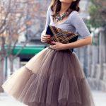 Платья с юбкой из фатина фото – Платье из фатина: необычные фасоны (201 фото)
