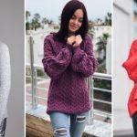 Фото свитер – Красивые и модные свитера 2019-2020